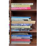 Collection of art reference books; primarily relating to French art and artists with selected art