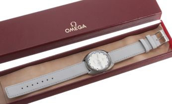 Omega Seamaster Cosmic automatic stainless steel gentleman's wristwatch, circular silvered two