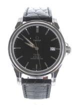 Omega De Ville Co-Axial Chronometer stainless steel gentleman's wristwatch, ref. 168.1700, serial