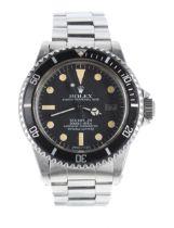 Rolex Oyster Perpetual Date Sea-Dweller 'Great White' stainless steel gentleman's wristwatch, ref.
