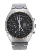 Omega Speedmaster chronograph 4.5 automatic stainless steel gentleman's wristwatch,ref. 176.0012,