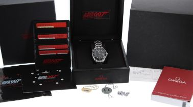 Omega Seamaster '007 James Bond' Professional Co-Axial Chronometer automatic stainless steel