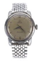 Omega Seamaster automatic stainless steel gentleman's wristwatch, ref. 2431, serialno. 15114xxx,
