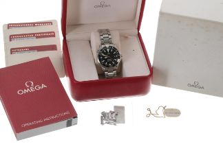 Omega Seamaster Professional 'Special Forces Communicator' stainless steel gentleman's wristwatch,