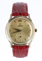 Omega 14k gold filled automatic 'bumper' gentleman's wristwatch, ref. F-6251, serial no. 13855xxx,