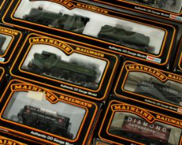 Mainline Railways 00 gauge model locomotives, carriages and rolling stock including cat nos.