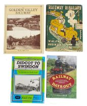 W. Heath Robinson -Railway Ribaldry, first edition published 1935, also three other books of