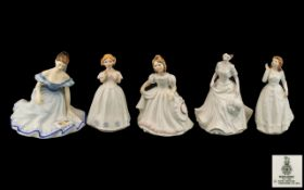 Royal Doulton - Collection of Hand Paint