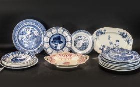 Miscellaneous Collection of Plates, five