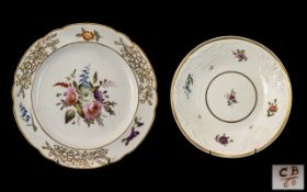 Charles Bourne Decorated Porcelain Botan