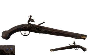 'Ottoman' 18th Century Flintlock Action