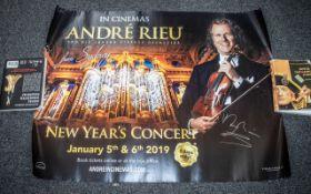Andre Rieu Music Legend Autographed Cine
