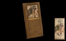 Rare Antique Book 'The Old Christmas' by