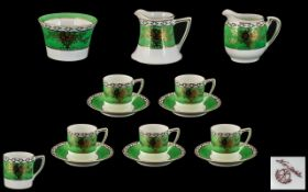 Noritake Part Tea Set. 14 Pieces in tot