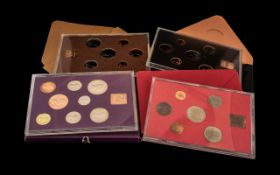 Collection of Coinage of Britain Packs, to include 1970, 1971, 1973, and 1974. Please see images.