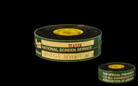 Original 35mm Film Reel Of The Trailer to Richard Marquand's Star Wars: Return of the Jedi. labelled