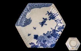 Japanese Meiji Period Hexagonal Shaped F
