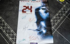 24 Rare First Edition Promo Poster Kiefe