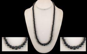 1960's Venetian Millefiori Bead Necklace