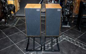 Rogers LS7 Attractive Pair of High Quality Teak Cased Hi-Fi Speakers.