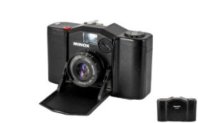 Minox 35EL Fully Functioning Compact Pocket Camera ( black colour way ) All Aspects of Condition Is