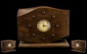 Spitfire Interest. Mantle Clock Spitfire Perpetular Cut Down To Form a Clock.
