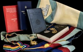 Masonic Interest. Medals etc. Please See Photo.