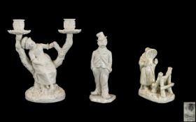 A Collection of Royal Worcester White Po