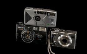 Sony Cyber Shot Camera 3X Konica POP Cam