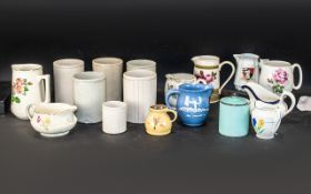 A Collection of Assorted Pottery to incl