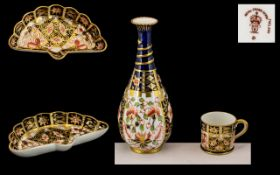 Royal Crown Derby Collection of 3 Small