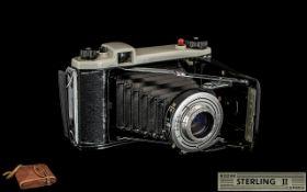 Kodak - Sterling II 120 Folding Camera -
