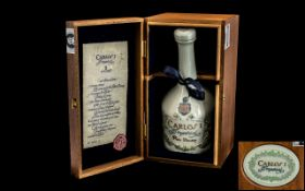 Lladro Carlos 1 Imperial Brandy Gran Reserva De Jerez, in Lladro decorative Ceramic Decanter,