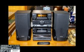 Technics - Superb Hi-Fi Audio System. Comprises 1/ Tuner / Sound Processor, ST-CH540. 2/ Stereo
