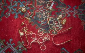 Modern Brass Curtain Ties classical style together with curtain rings.