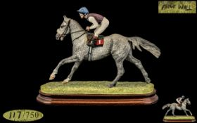 Border Fine Arts Ltd and Numbered Edition Fine Quality Hand Painted and Impressive Sculpture Figure