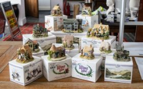 Collection of Lilliput Lane 'Collectors Club' Cottages, all in original boxes,
