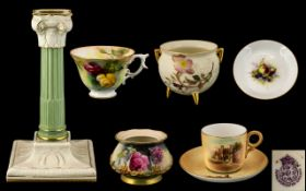 A Collection of Assorted Royal Worcester