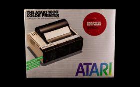 Atari 1020 Colour Printer. Serial No 926