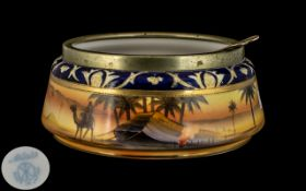 Noritake Finely Painted Salad Bowl with