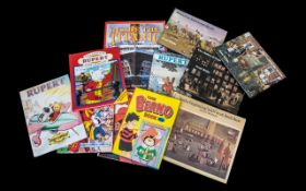 Collection of Vintage Children's Books.