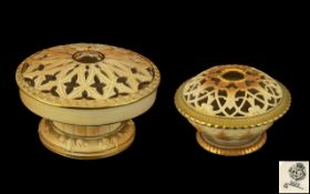 Royal Worcester - Fine Pair of Blush Ivo