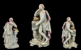 An 18th Century Soft Paste Derby Porcela
