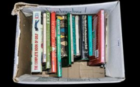 Misc Selection of Golfing Books and Memo