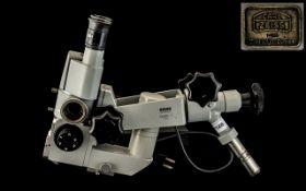 Carl Zeiss Microscope Op Mi-1. Carl Zei
