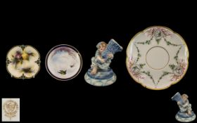 Collection of Small Antique Porcelain It