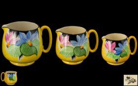 Crown Devon Fielding's Hand Painted Trio