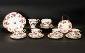 Aynsley Rose Wilton B971 19 Pieces To In