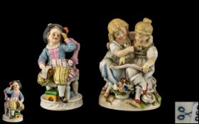A Pair of German Mid 19th Century Hand P