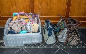 Large Collection of Bags & Purses including Antler, Gianni Conti, Carvela, Matthew Williamson,